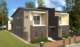 3D image street view of Duplex in Botany