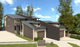 3D image rear street view of Duplex in Botany